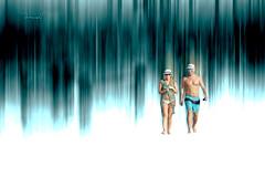 ... into reality (mariola aga) Tags: summer beach couple art