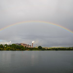 Rainbow over the steelworks thumbnail