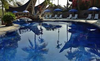 INDONESIEN; SULAWESI, Tanah Toraja- Hotelanlage, 17594/10602