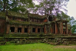 East entrance to Angkor Wat near Siem Reap, Cambodia