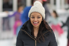 Winter Smile (Stuart Mac) Tags: smile hat beauty woman happy face eyes d700 135mm f2 candid