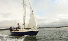 Sonata  - Exposition (Adam Swaine) Tags: boats yachts sailing sails medway rivermedway rivers river england english englishrivers britain british waterways estuaries estuary beautiful kent canon coast coastal