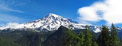 wide Mt Rainier... (al-ien) Tags: mountains mtrainier mtrainiernationalpark pano wide