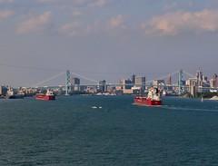 CSL Parade - 3 Upbounders + bonus boats (knutsonrick) Tags: