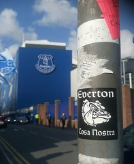 """Our Special thing"" - Everton Ultras (rylojr1977) Tags: everton football stadium street premierleague ultras sticker badge urban crest sport fans england soccer cosanostra"
