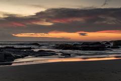 Sunset in Cape Town - South Africa (nicklaborde) Tags: 500px sunset sundown orange sky red seascape beach sand horizon sun set dawn south africa coast coastal