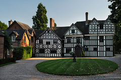 Somersal Herbert Hall (PJ Swan) Tags: somersal herbert hall house england derbyshire timber framing black white 16th century 1600s