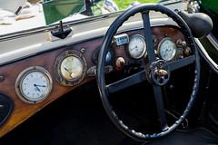 Vintage dashboard (thesageuk) Tags: vehicle classiccar vintagevehicle dashboard steerer steeringwheel dials gauges speedometer speedo