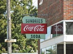 Hamilton, Kansas (Jasperdo) Tags: hamilton kansas midwest smalltown sign cocacola grocerystore