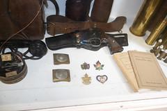 Antique Canadian pistol and militaria (quinet) Tags: 2018 antik britishcolumbia canada heritageacres saanichton ancien antique 124