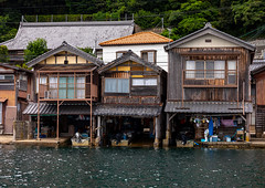 Funaya fishermen houses, Kyoto prefecture, Ine, Japan (Eric Lafforgue) Tags: architecture asia boathouse buildingexterior builtstructure coastline colorimage cultures day fishingindustry funaya harbour horizontal house ine japan japan18190 journey kyotoprefecture nopeople outdoors photography row scenics sea tourism traditionalbuilding tranquilscene tranquility traveldestinations village water waterfront woodmaterial wooden jp