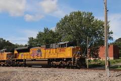 58915 (richiekennedy56) Tags: unionpacific sd70ace up8991 camden missouri raycountymo railphotos unitedstates usa
