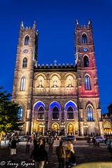 basilica de notre dame quebec (WRITING IN LIGHT) Tags: basilica de notre dame quebec montreal cathedral building history