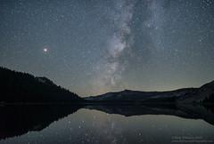 Tenaya Lake Reflection (Rick Whitacre) Tags: milkyway tenayalake yosemitenationalpark yosemite reflection mars