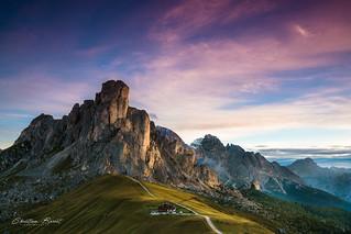 Dolomites 2018 - Sunrise at Passo di Giau