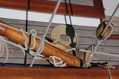 Voiles Latines du Léman (Morges, Switzerland) (asitrac) Tags: eo léman switzerland suisse vaud voile vintage matelotage ropework seamanship gg voilier sailboat ropes
