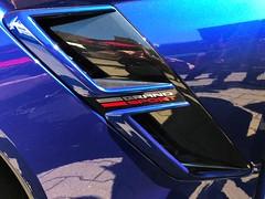 2018-05-05 iP JB 15410#cos30 Corvette Grand Sport 620 (cosplay shooter) Tags: düsseldorf harley x201809 100c corvette chevrolet chevroletcorvette openhouse grandsport620