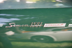Simca 1501 Special 24.6.2018 2168 (orangevolvobusdriver4u) Tags: 2018 archiv2018 car auto schweiz suisse switzerland bleienbach klassik classic oldtimer simcafrance simca france simca1501 simca1501special 1501 special detail zeichen logo badge brand