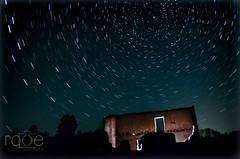 En la oscuridad.... (ROGE gonzalez ALIAGA) Tags: circumpolar naturaleza noche nocturna lights estrella polar yeste largaexposición oscuridad dark