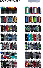 F13 Boys, teen, 6pr ns v1 (boodiba) Tags: sockdesign hosierydesign surfacedesign target adobeillustrator photoshop graphicdesign