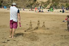 Sand Castle builder (jimj0will) Tags: sand castle sandcastle builder beach
