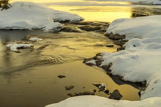 Sasaqiu Rapids in Early Spring