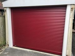 Colourful SWS roller doors