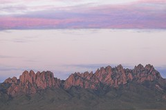 Organs at Dusk (Tiffany T. Photography) Tags: landscape mountains sky sunset dusk outside outdoors new mexico