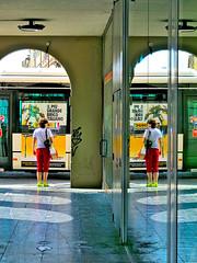 ITALIAN_MIRROR_ PADOVA_P1071988 (keresztydoki) Tags: italia italian light august afternoon color concert evening fantasy fest face girl hungary mirror kiss and