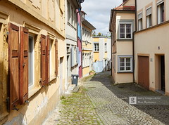 Street in Bamberg (Max Ryazanov) Tags: germany germanculture bamberg cityscape europe westerneurope unescoworldheritagesite architecture