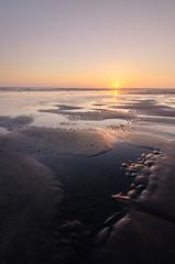 Zonsondergang (alowlandr) Tags: sunset ijmuiden beach strand zonsondergang eb lowtide