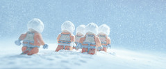 winter marches on (jooka5000) Tags: hoth lego starwars cinematic photography snow falling sky rebel pilots running winter march cinema toyphotography photo legography incamera