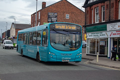 Arriva NW MX09JTY (Mike McNiven) Tags: arriva northwest wright pulsar2 vdlbus warrington interchange central wigan towncentre