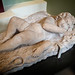 Sleeping Eros heavily restored between 1650-1700 CE Lower body Roman 100-200 CE