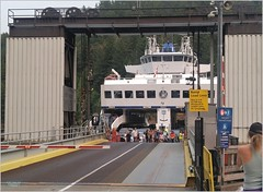 Bowen Island Ferry Dock BC18h35 LG (CanadaGood) Tags: canada bc britishcolumbia bowenisland bcferries ferry sea howesound people person shore dock sign tree canadagood 2018 thisdecade color colour cameraphone