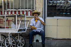 COWBOY (anilcagal) Tags: minor empire mirror art streetphoto play hair purple music street people photo road endless old man with portrait doğal going photography streetphotography yellow sony sonyalpha6000 sel50f18 building workers shop window city sky flowers istanbul sad car