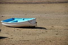 Stuck on sand. (Ian Ramsay Photographics) Tags: stuck sand merimbula newsouthwales australia sapphirecoast tourism boat beach