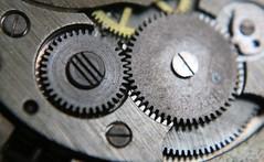 "Macro Mondays ""Cogwheel"" (♥ ♥ ♥ flickrsprotte♥ ♥ ♥) Tags: macromondays cogwheel uhr taschenuhr zahnräder 1792018 alt"