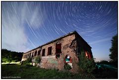 Abandoned WWII ruins ST&LP (seb a.k.a. panq) Tags: abandoned wwii radiostation ruins moonlight startrails sebastianbakajphotography lightpainting st lp nightsky night stars