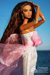 Colette (astramaore) Tags: astramaore colette duranger nuface agency nu tan tanned longhair sea dress pink skies wind doll dollphotography fashion fashionroyalty fashiondoll chic beauty glow glam style lost angel