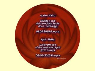 Aprile – Haiku