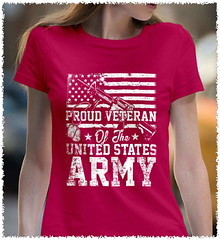 Proud Veteran. US ARMY. Women's: Gildan Ladies' 100% Cotton T-Shirt. Heliconia.  | Loyal Nine Apparel (LoyalNineApparel) Tags: armedforces army armyveteran countrygirl countrylife cute fashion fashionista girlsandguns girlswithguns girly loyalnineapparel loyalnineclothes military ootd patrioticwomen pewpew pewpewlife southern stylish tee teeshirt usairforce usmc veteran veterans womensfashion womensshirt womenstee womenwhoshoot