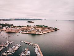 DJI_0174 (tom_acton) Tags: plymouth devon turnchapel mayflower mayflowermarina sea water boats mountbatten ocean
