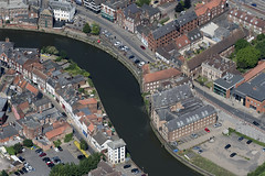 Boston aerial image (John D Fielding) Tags: river witham riverwitham above aerial nikon d810 hires highresolution hirez highdefinition hidef britainfromtheair britainfromabove skyview aerialimage aerialphotography aerialimagesuk aerialview drone viewfromplane aerialengland britain johnfieldingaerialimages fullformat johnfieldingaerialimage johnfielding fromtheair fromthesky flyingover fullframe lincolnshire lincs
