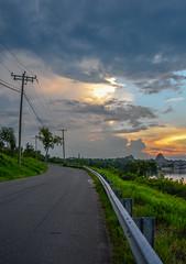 _DSC0468-2 (johnjmurphyiii) Tags: 06457 clouds connecticut connecticutriver middletown originalnef riverroad sky summer sunset tamron18400 usa evening johnjmurphyiii landscape nature