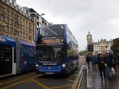 First Scotland 33444 SN66 WGW on 23, Princes St, Edinburgh (sambuses) Tags: firstscotland 33444 sn66wgw westlothian