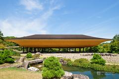 The facade of Shishoji Zen Museum And Gardens, Kotei (新勝寺 禅と庭のミュージアム 洸庭) (christinayan01 (busy)) Tags: zen japan hiroshima buddhism museum architecture temple