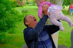 CotonManorGardens-0928.jpg (timnutt) Tags: molly northamptonshire baby grandad 35f2wr midlands 35mm fujifilm playing garden xt2 child gardens fuji cotonmanor play manor people