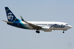 Alaska 737-700 N615AS (KoryC757) Tags: alaskaairlines boeing 737700 dallas dfw n615as