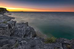 DSC_4878cityscape copy (angie_1964) Tags: sunset halflogdump nikond850 water clouds bay rocks georgianbay canada